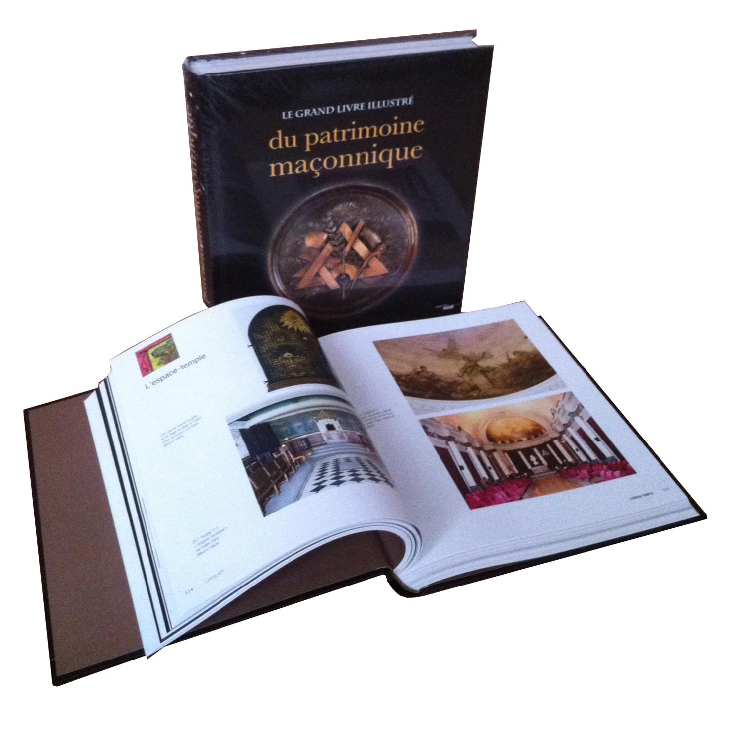 """-34% """" Grand Livre Illustré du Patrimoine Maçonnique """" 39€ au lieu de 59€ + colissimo 9€"""